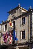 City hall of Santo Domingo de Silos Stock Photos