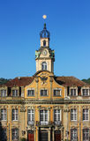 Schwäbisch Hall, Germany. City Hall. Schwäbisch Hall is historical town in the German state of Baden-Württemberg and located in the valley of the river stock image