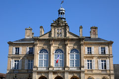 City hall of Sees in Normandie Royalty Free Stock Images