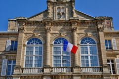 City hall of Sees in Normandie Royalty Free Stock Photography
