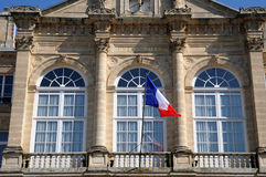 City hall of Sees in Normandie Stock Photo