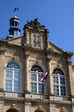 City hall of Sees in Normandie Stock Image
