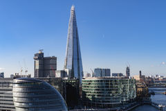 City Hall and Shard, London Stock Image