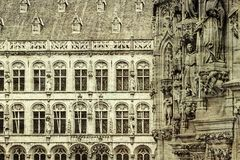 City Hall and St. Peter& x27;s Church in Leuven Royalty Free Stock Images