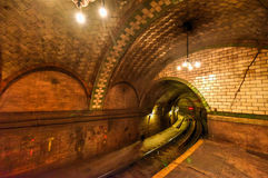 City Hall Station - New York City Stock Photos