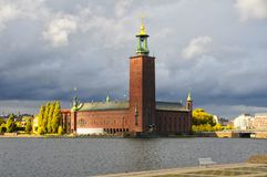 City Hall Stockholm Stock Photo