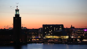 The city hall, Stockholm Royalty Free Stock Photos