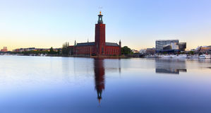 The city hall, Stockholm Stock Photography