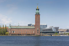City Hall in Stockholm, Scandinavia, Sweden, Europe Stock Image