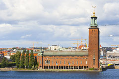 City Hall. Stockholm, Sweden Royalty Free Stock Photography