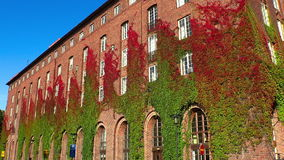 City Hall in Stockholm. Sweden. City Hall in Stockholm. Sweden stock footage