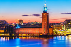 City Hall in Stockholm, Sweden Stock Photos