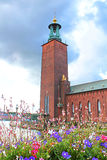 City Hall, Stockholm, Sweden stock photos