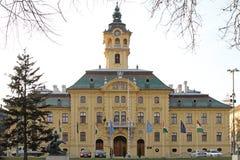 City Hall Szeged Stock Photos