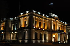 City Hall of Tandil. View of the City Hall of Tandil City in Buenos Aires, Argentina stock photo