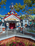 City Hall in Toontown, Disneyland Royalty Free Stock Image