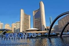 City hall of Toronto. Royalty Free Stock Photo