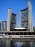 The City Hall of Toronto, Ontario, Canada stock photos