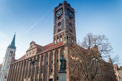 City Hall in Torun, Poland Stock Photography