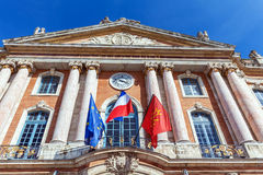City Hall of Toulouse, France Stock Photography