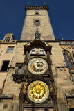 City Hall Tower with famous astronomical clock Royalty Free Stock Photography