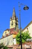City Hall Tower - Iasi - Romania Royalty Free Stock Photography