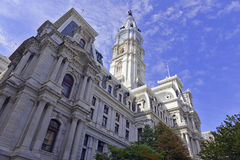 City Hall Tower, Philadelphia, Commonwealth of Pennsylvania. USA Royalty Free Stock Photography
