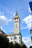 City Hall in the town Targu-Mures, Romania. Targu Mures is a nice romanian town in the center of Transylvania Royalty Free Stock Image