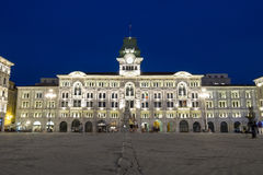 City Hall of Trieste, Italy Royalty Free Stock Image