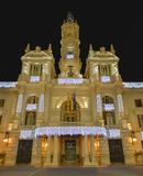 City hall of valencia Royalty Free Stock Image