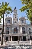 City Hall of Valencia, Spain. Royalty Free Stock Image