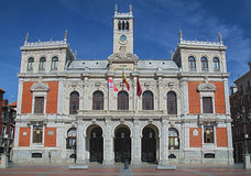 City Hall of Valladolid Royalty Free Stock Images