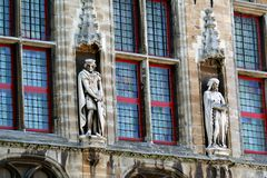 City hall of Veere Royalty Free Stock Photography