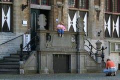 City hall of Veere Stock Photography