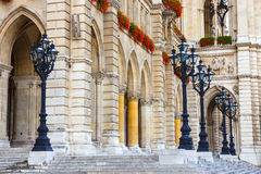 City hall in Vienna, Rathaus, Austria Royalty Free Stock Photography