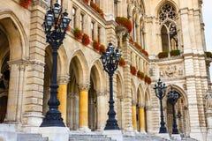 City hall in Vienna, Rathaus, Austria Royalty Free Stock Photo