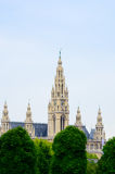 City Hall of Vienna (Rathaus) Austria Royalty Free Stock Photo