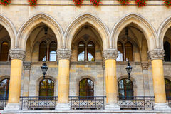 City hall in Vienna, Rathaus Royalty Free Stock Image