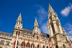 City Hall Vienna Stock Images