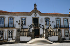 City hall of Vila Real royalty free stock images