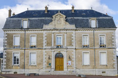 City hall of Vosne-Romanee, burgundy, France, saone-et-loire Royalty Free Stock Image