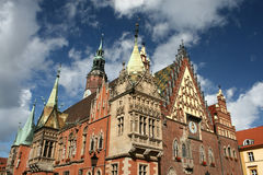 City hall in Wroclaw Stock Photo