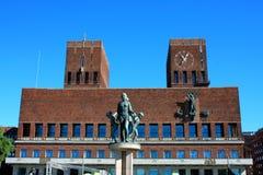 City Hall (Radhuset), Oslo, Norway Stock Photo
