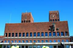 City Hall (Radhuset), Oslo, Norway Stock Photography