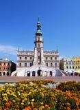 City Hall in Zamosc Royalty Free Stock Photos