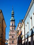 City Hall in Zamosc Stock Photography