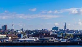 City of Hamburg royalty free stock photo