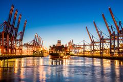 City of Hamburg, Germany Royalty Free Stock Images
