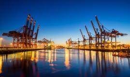 City of Hamburg, Germany Royalty Free Stock Photos