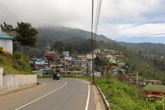 The city Haputale in Sri Lanka. The city of Haputale in Sri Lanka Stock Images
